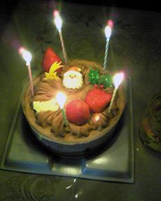 クリスマスケーキ2個目