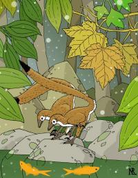 最小級の恐竜 Hesperonychus elizabethae