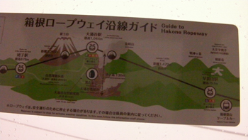 Cable Car Guide Map