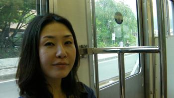 Mutsu train on the way home