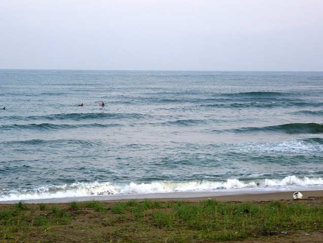 今朝の大浜