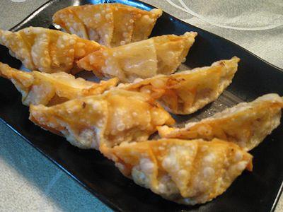 納豆揚げ餃子