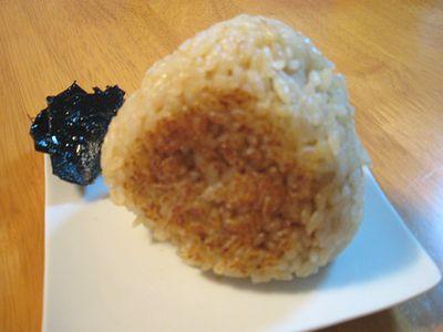 玄米焼きおにぎり