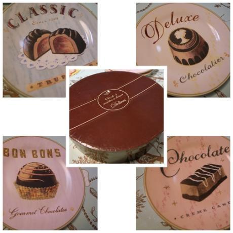 チョコレートお皿