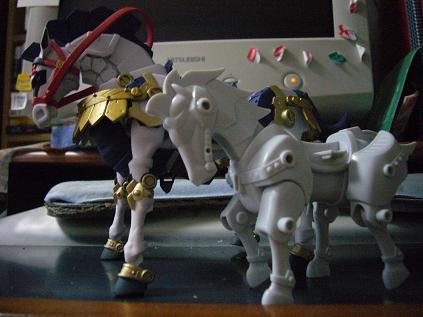 騎馬と戦馬