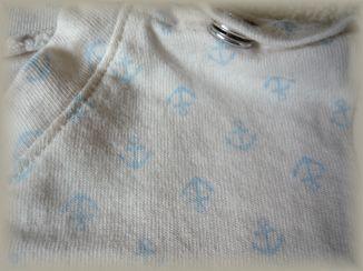イカリTシャツ(生地アップ)