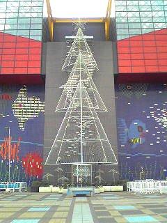 海遊館クリスマスツリー