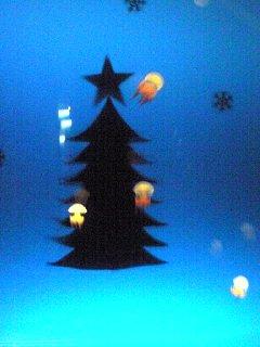 くらげのクリスマスツリー