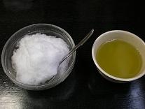 くるみ餅のカキ氷