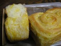 みかんパンの層