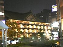 新歌舞伎座ライトアップ