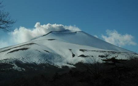 火山活動中