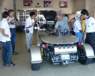 2008年8月GT3発表展示会御礼