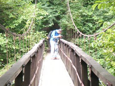 吊り橋から撮影