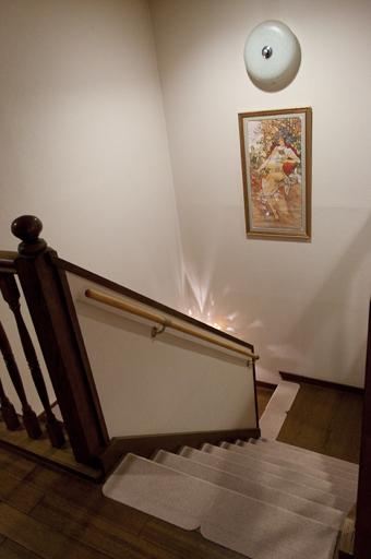 森の時計階段