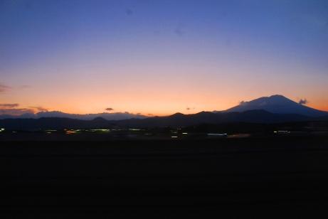 岩手山夕景