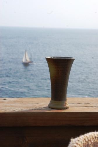 船と海とビール
