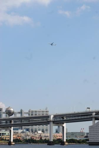 飛行機とフジテレビ