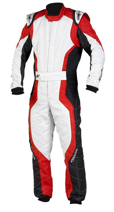 GP PRO Suit BlackRedSilver