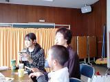 お昼ごはんにて(PIYOちゃんの口もとに注目!)