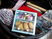 ジュニアたちの手作りチョコとクッキー