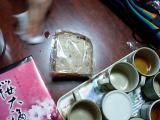"""入学祝いのお礼にもらった""""ささげ豆""""のパン"""