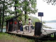 ふたつ前、宮島の笛師Fさんとお弟子さんのステージ