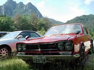 三倉岳とS47年製の名車
