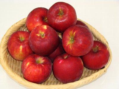 竹嶋有機農園のりんご紅玉
