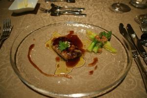 ホタテ貝と夏野菜グリル