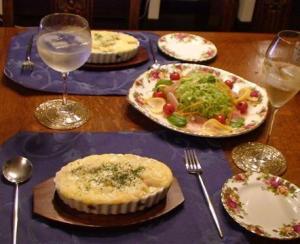 楽しい食卓♪