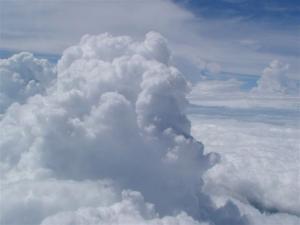 雲のうえだよ