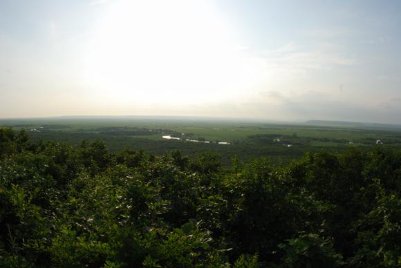 釧路湿原(細岡展望台よりのぞむ)