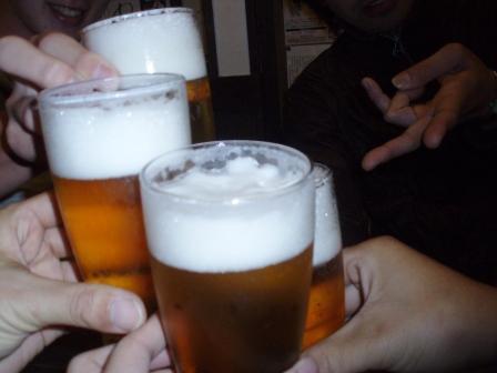 また乾杯w