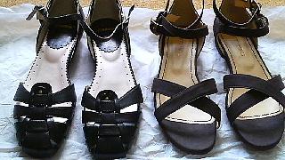 サンダルと靴