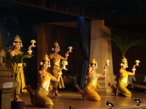 アプサラの踊り