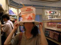 ポップ帽子
