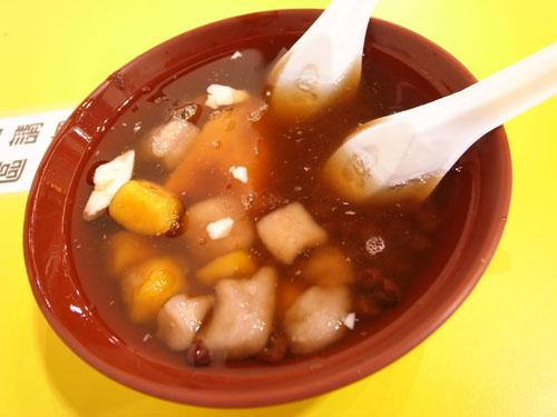 紅豆芋圓豆花