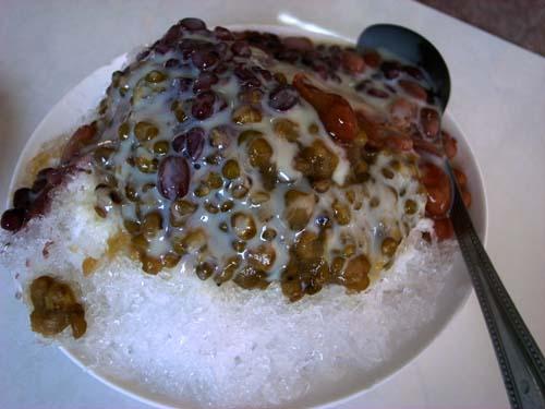 総合豆牛乳氷