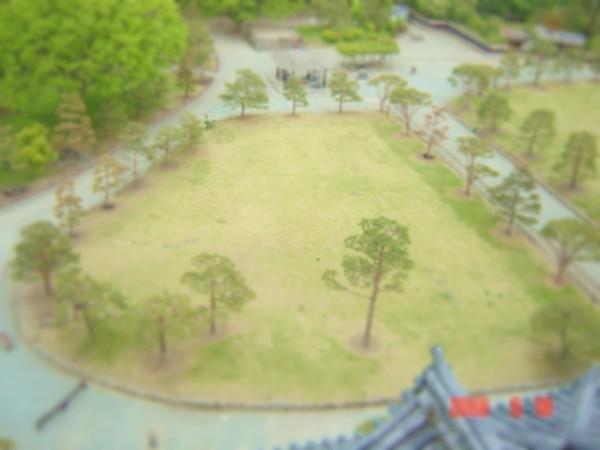ジオラマ風鶴ヶ城公園