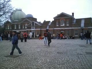 天文台敷地内