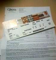 バスティーユオペラ座のチケット