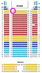 ウィグモア座席表