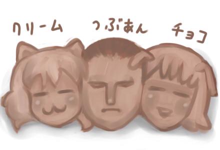 護衛軍3色パン