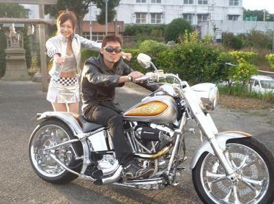 田中茂選手とmamiちゃん