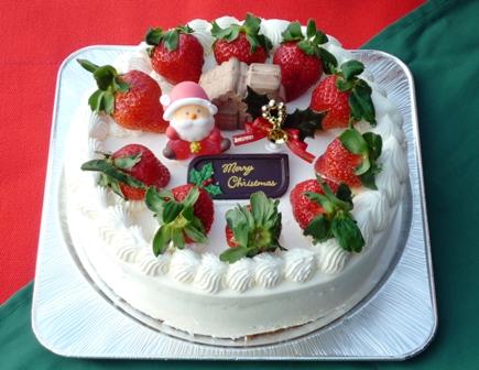 09・クリスマスケーキ