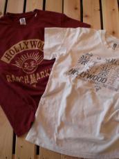 スマイルTシャツとフラッグTシャツ