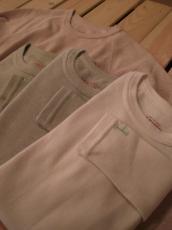 スパンフライス ORG ロングスリーブTシャツ