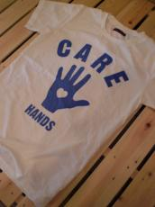 CARE HANDS Tシャツ