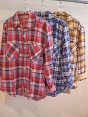 DGチェック L/Sシャツ
